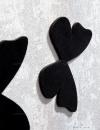 ساعت دیواری Butterfly مدل 16078