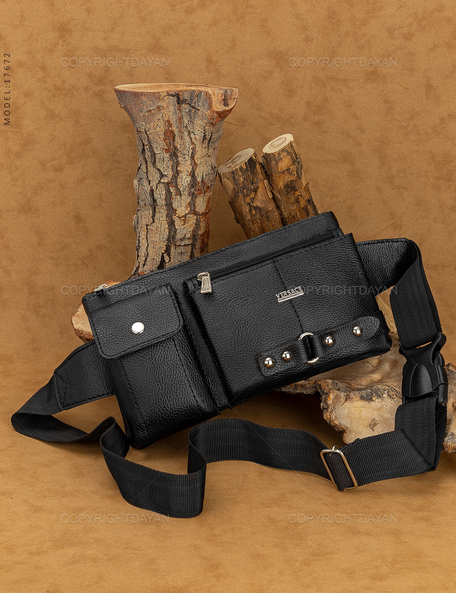 کیف کمری Versace مدل 17672