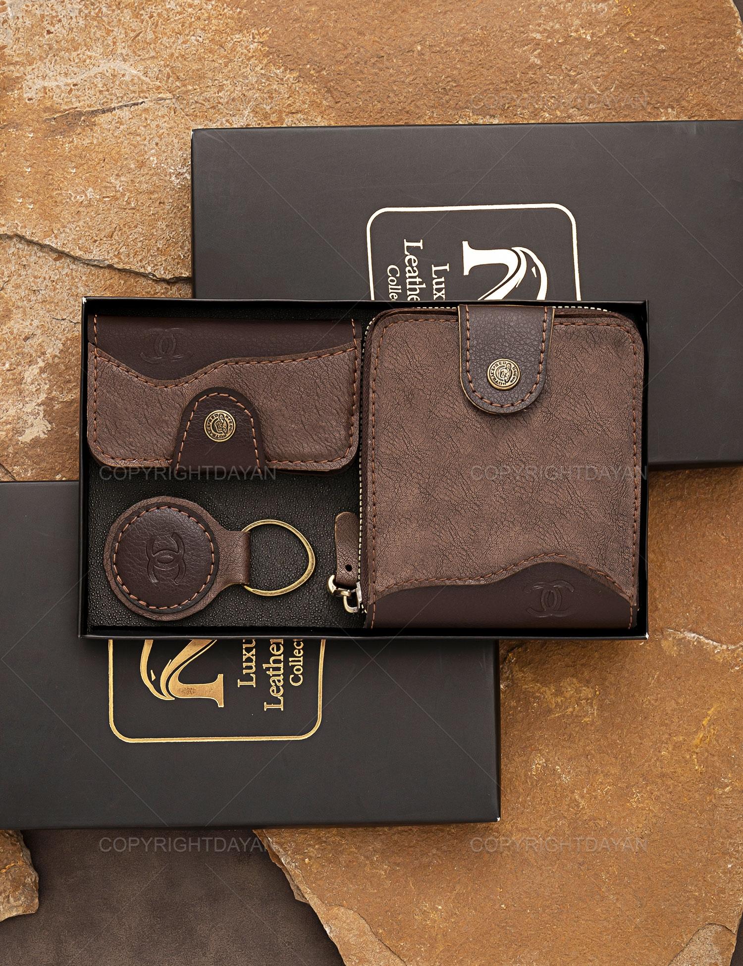 ست چرمی Chanel همراه با هدیه (کفش)