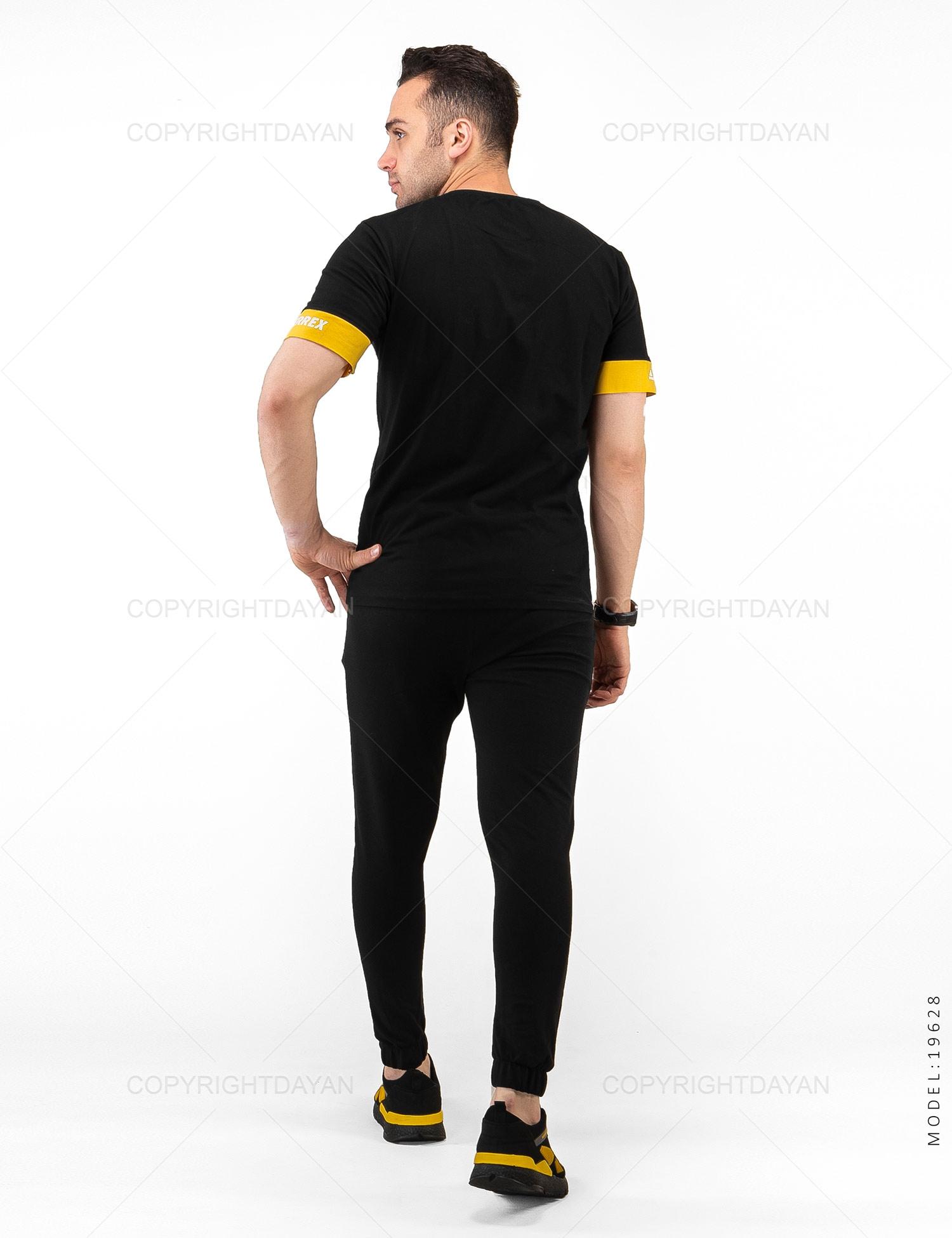ست تیشرت و شلوار مردانه Adidas مدل 19628