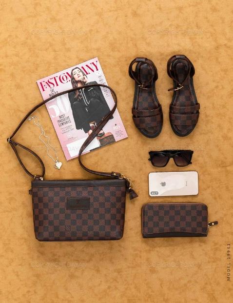 ست سه تیکه زنانه Louis Vuitton مدل 19941