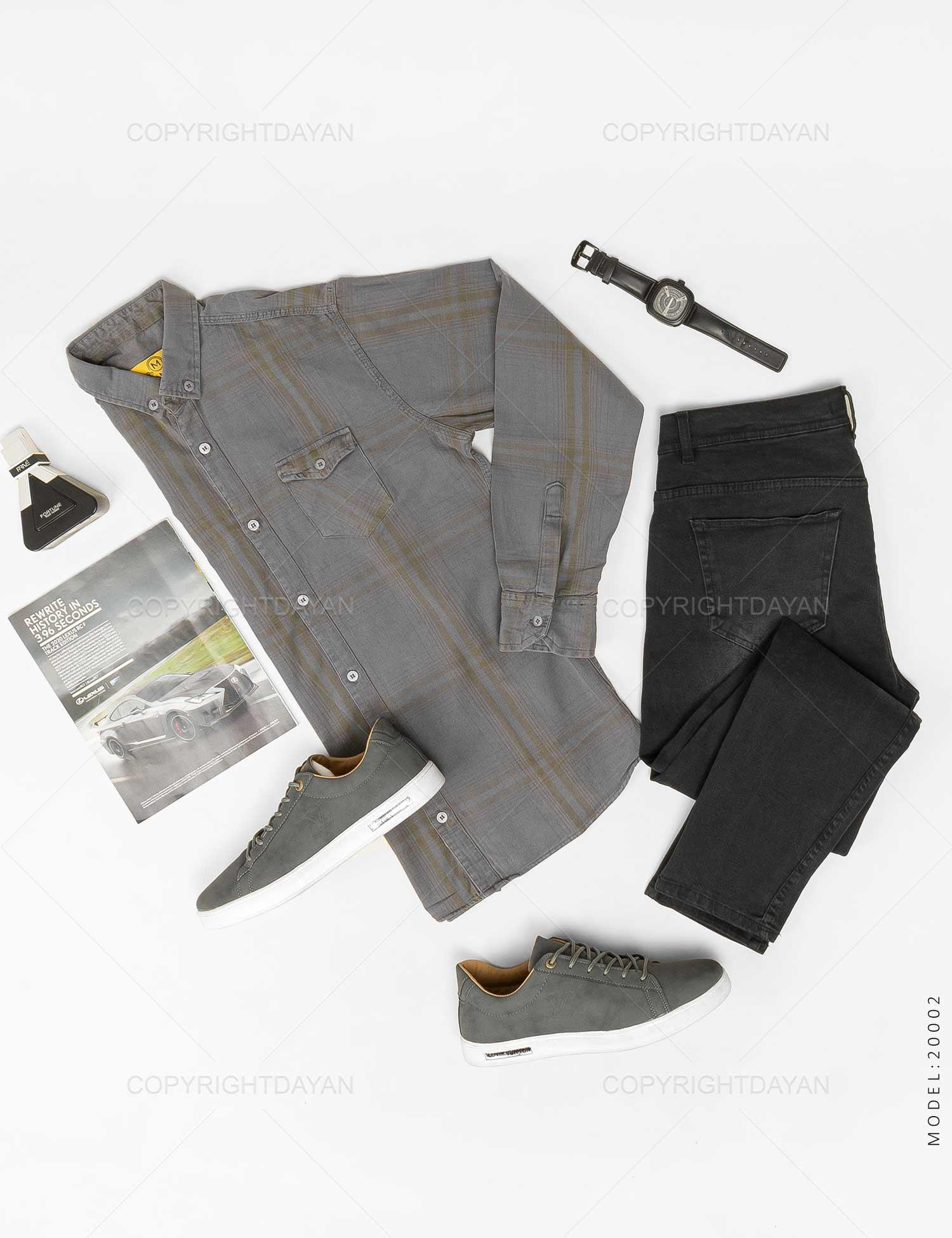 پیراهن مردانه Araz مدل 20002