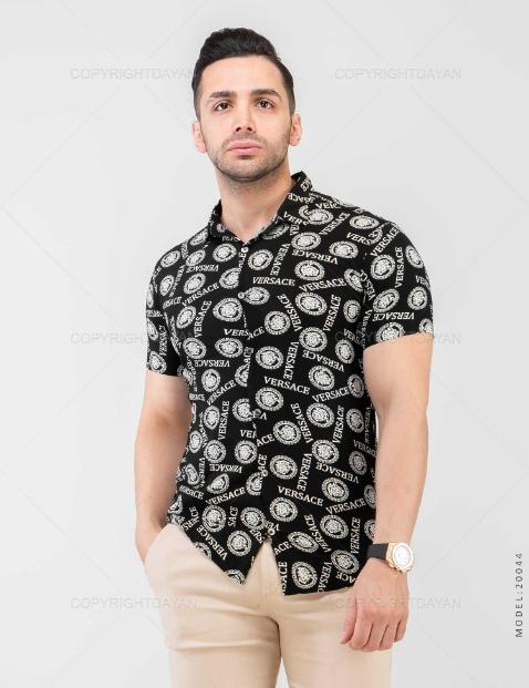 پیراهن مردانه Versace مدل 20044