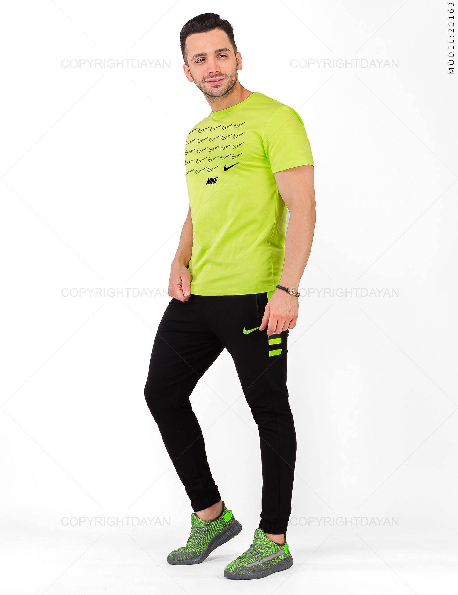 ست تیشرت و شلوار مردانه Nike مدل 20163