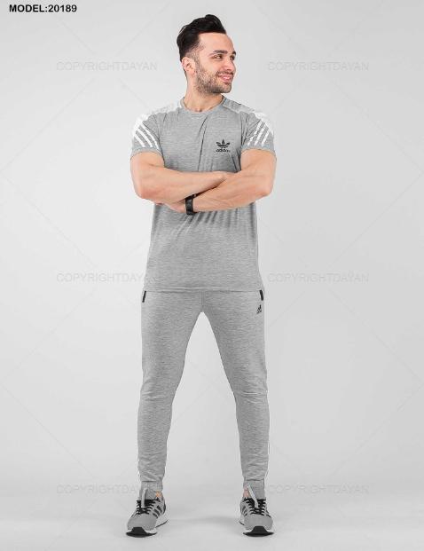 ست تیشرت و شلوار مردانه Adidas مدل 20189