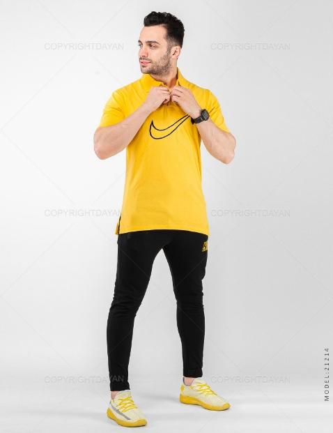 ست پولوشرت و شلوار مردانه Nike مدل 20191