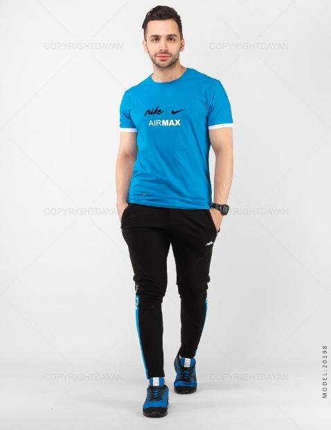 ست تیشرت و شلوار مردانه Nike مدل 20198