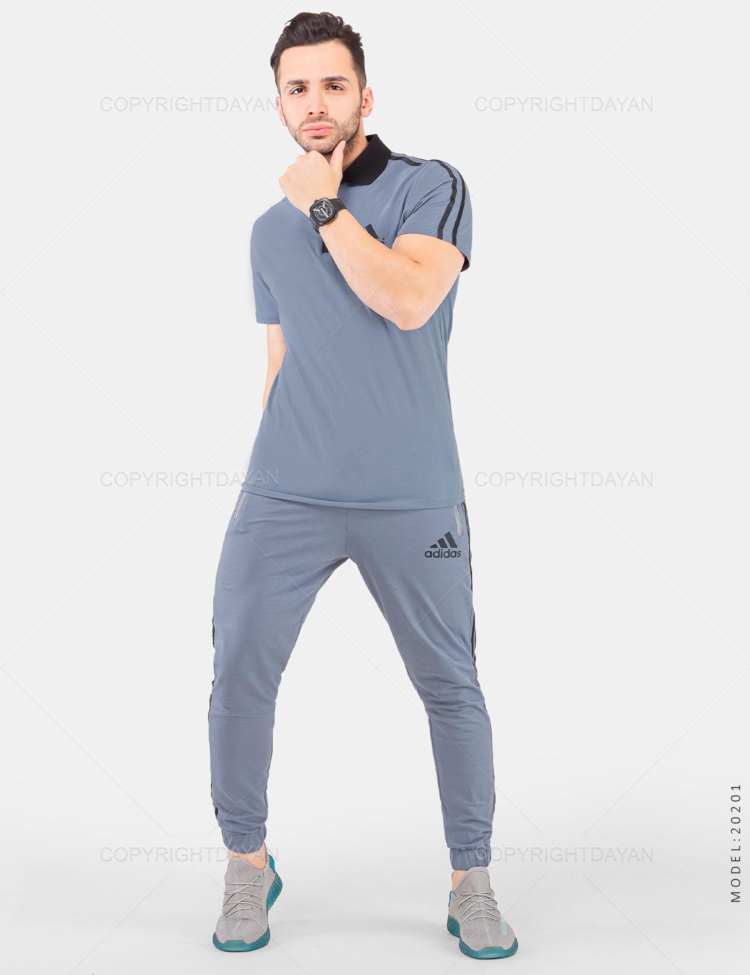 ست پولوشرت و شلوار مردانه Adidas مدل 20201