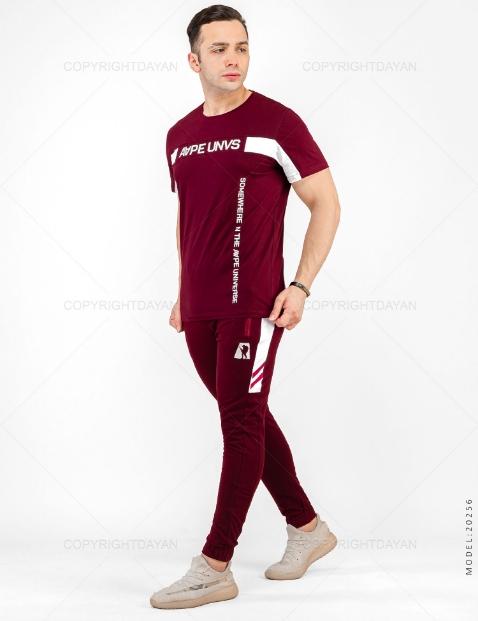 ست تیشرت و شلوار مردانه Rayan مدل 20256