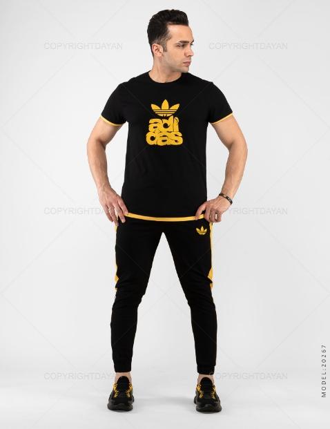 ست تیشرت و شلوار مردانه Adidas مدل 20267