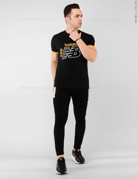 ست تیشرت و شلوار مردانه New Balance مدل 20270