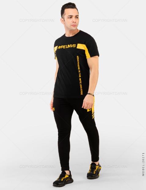 ست تیشرت و شلوار مردانه Rayan مدل 20271