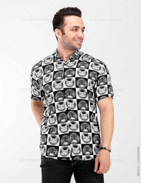 پیراهن مردانه Zima مدل 20340