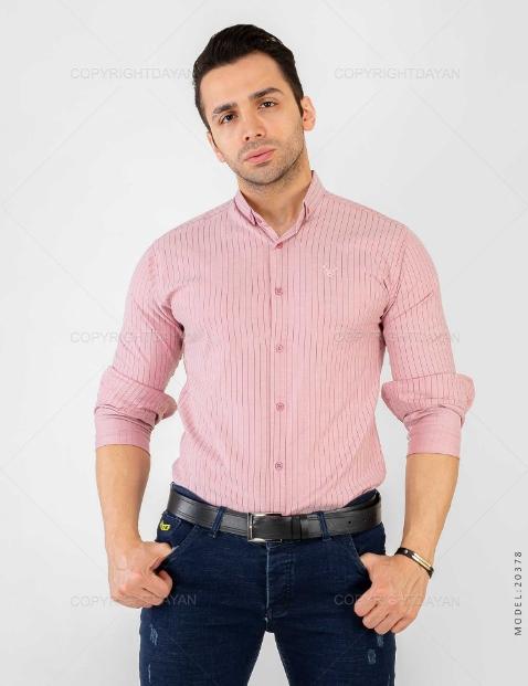 پیراهن مردانه Enzo مدل 20378