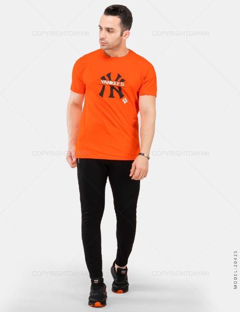 ست تیشرت و شلوار مردانه New York مدل 20425