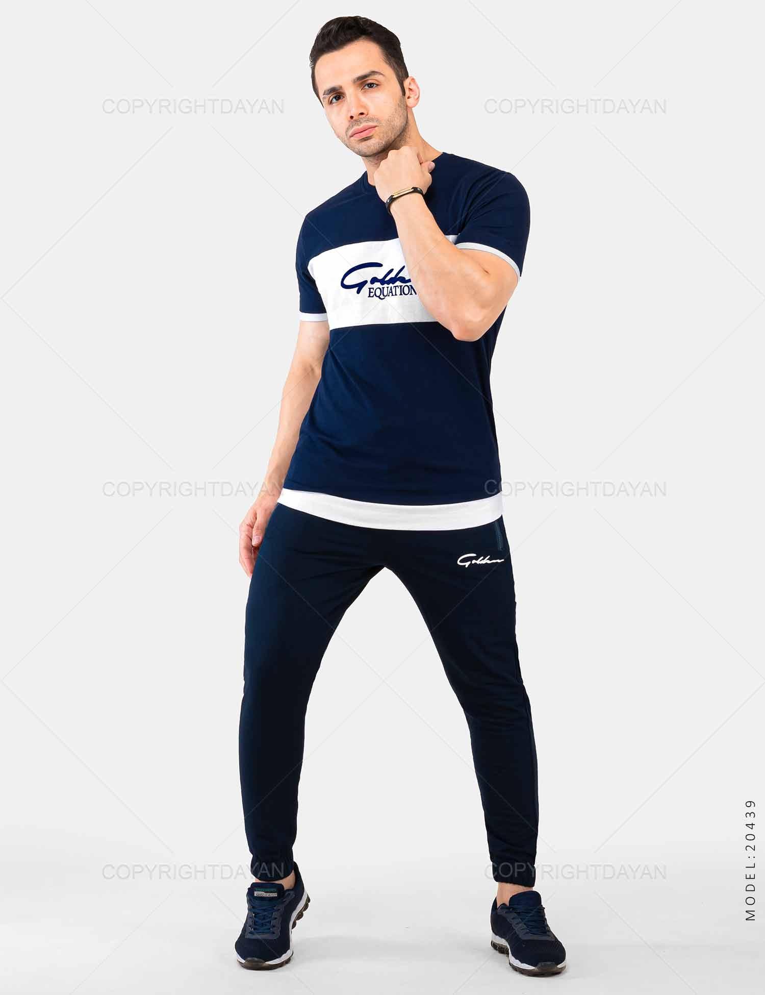 ست تیشرت و شلوار مردانه Batis مدل 20439