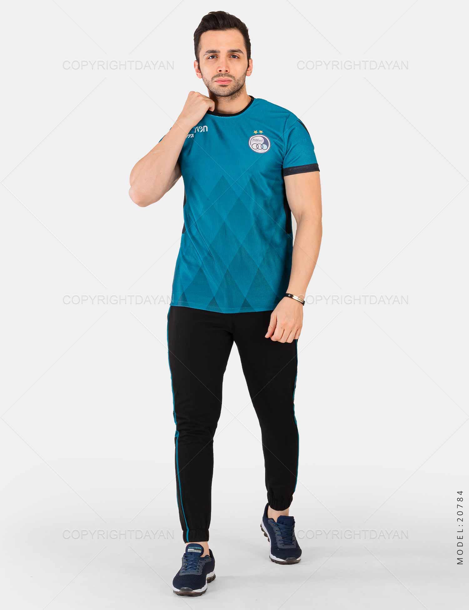 ست تیشرت و شلوار مردانه Esteghlal مدل 20784