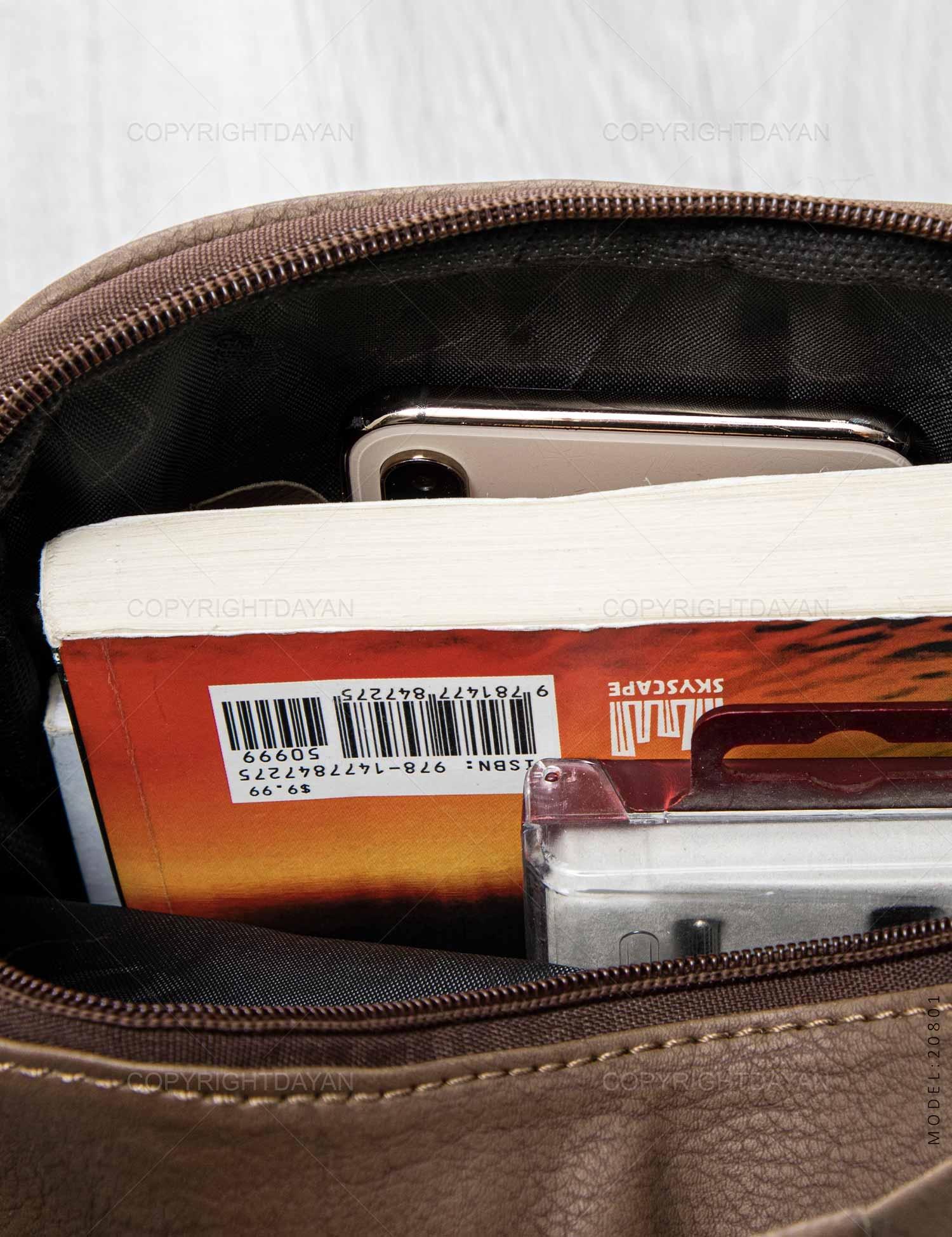 ست کیف دوشی و کیف پالتویی Cat مدل 20801