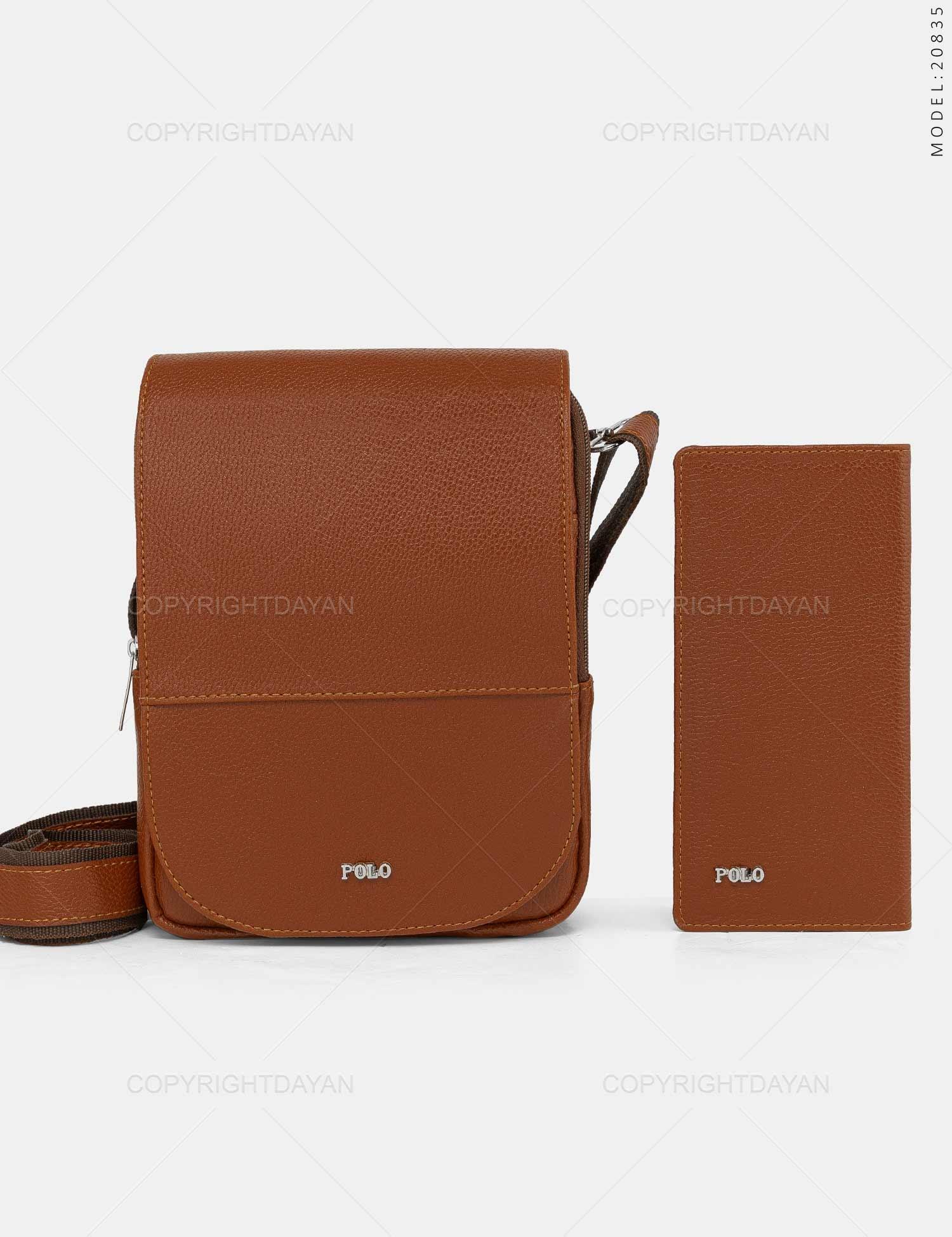 ست کیف دوشی و کیف پالتویی Polo مدل 20835