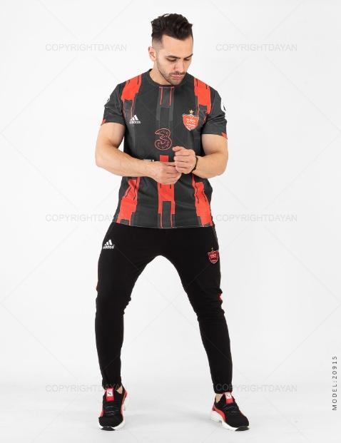 ست تیشرت و شلوار مردانه Perspolis مدل 20915