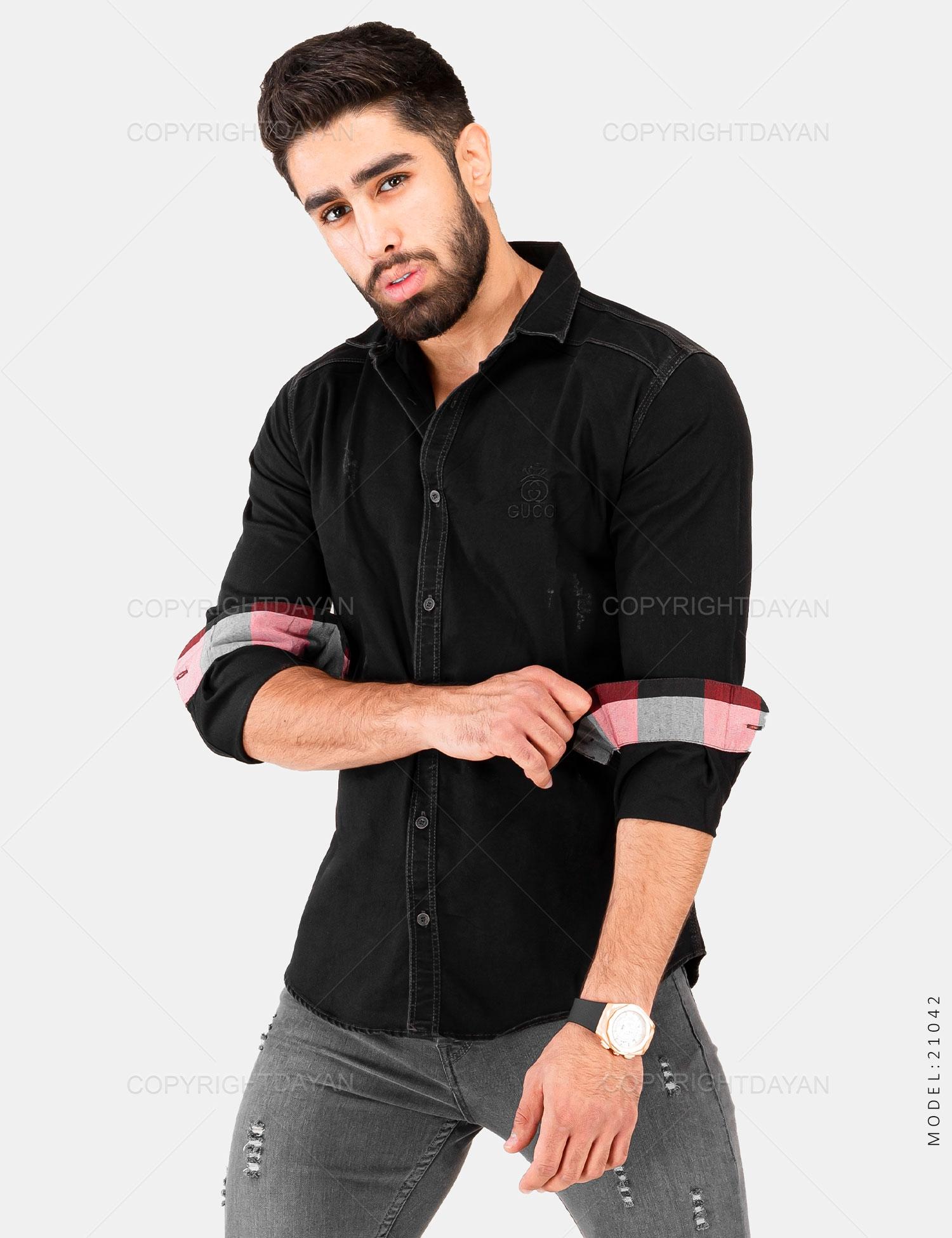 پیراهن مردانه Gucci مدل 21042