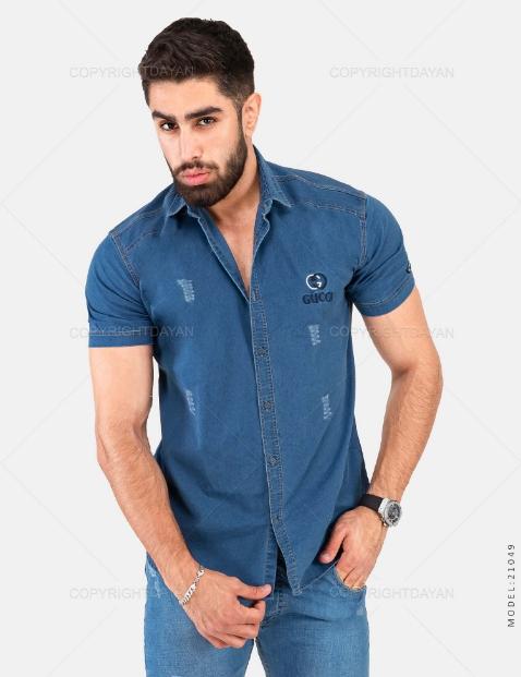 پیراهن مردانه Gucci مدل 21049