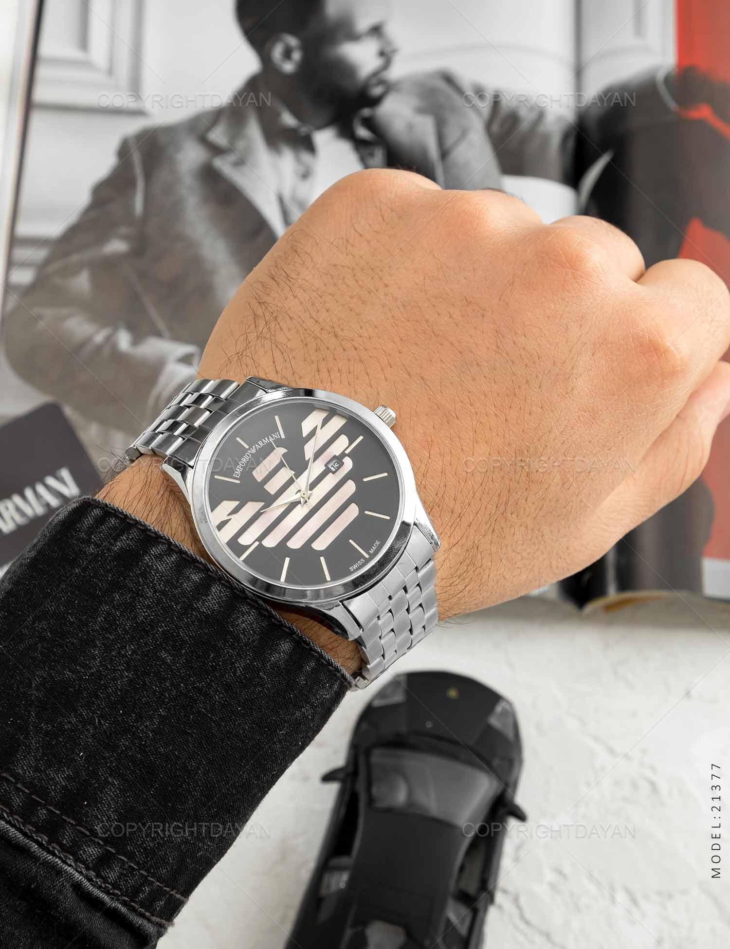ساعت مچی مردانه Emporio Armani مدل 21377 ساعت مچی مردانه Emporio Armani مدل 21377 169,000 تومان