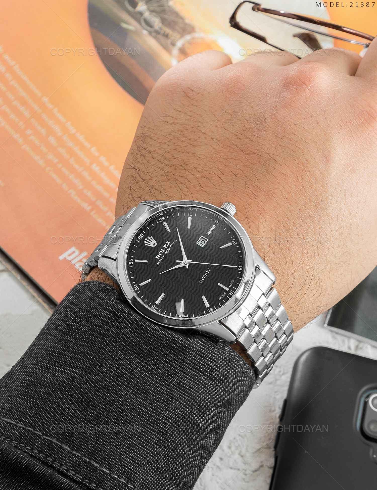 ساعت مچی مردانه Rolex مدل 21387 ساعت مچی مردانه Rolex مدل 21387 169,000 تومان