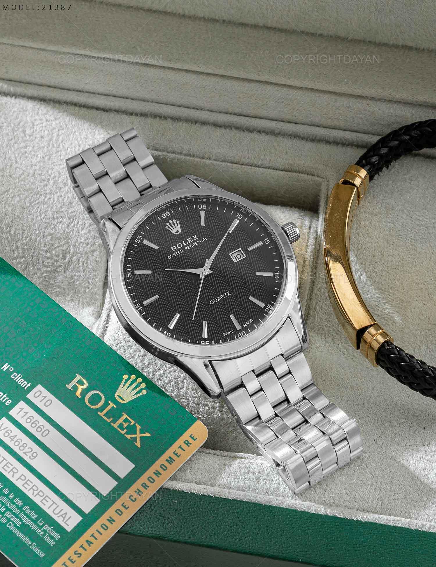 ساعت مچی مردانه Rolex مدل 21387