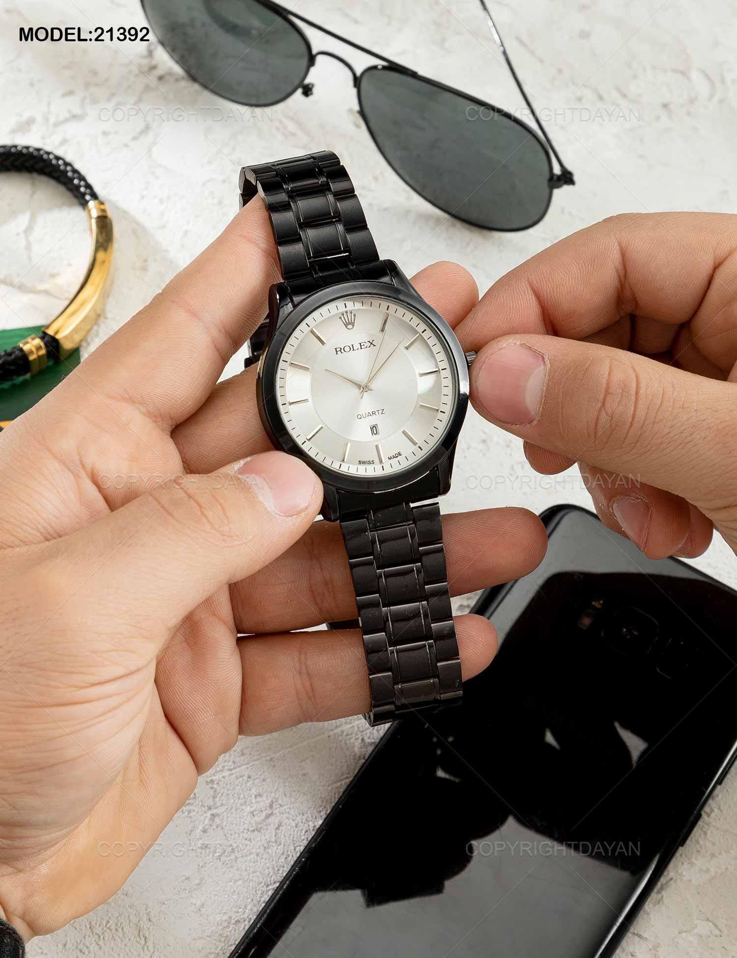 ساعت مچی مردانه Rolex مدل 21392 ساعت مچی مردانه Rolex مدل 21392 169,000 تومان