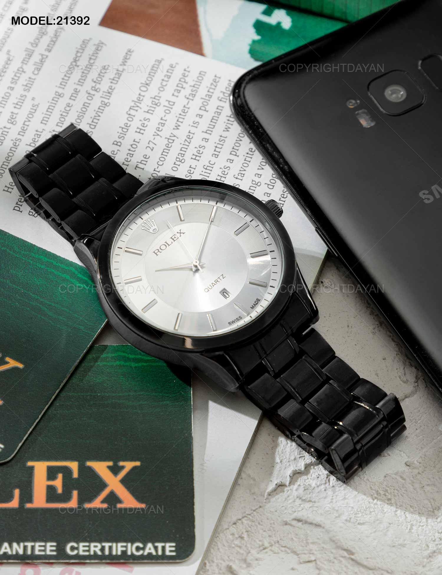 ساعت مچی مردانه Rolex مدل 21392