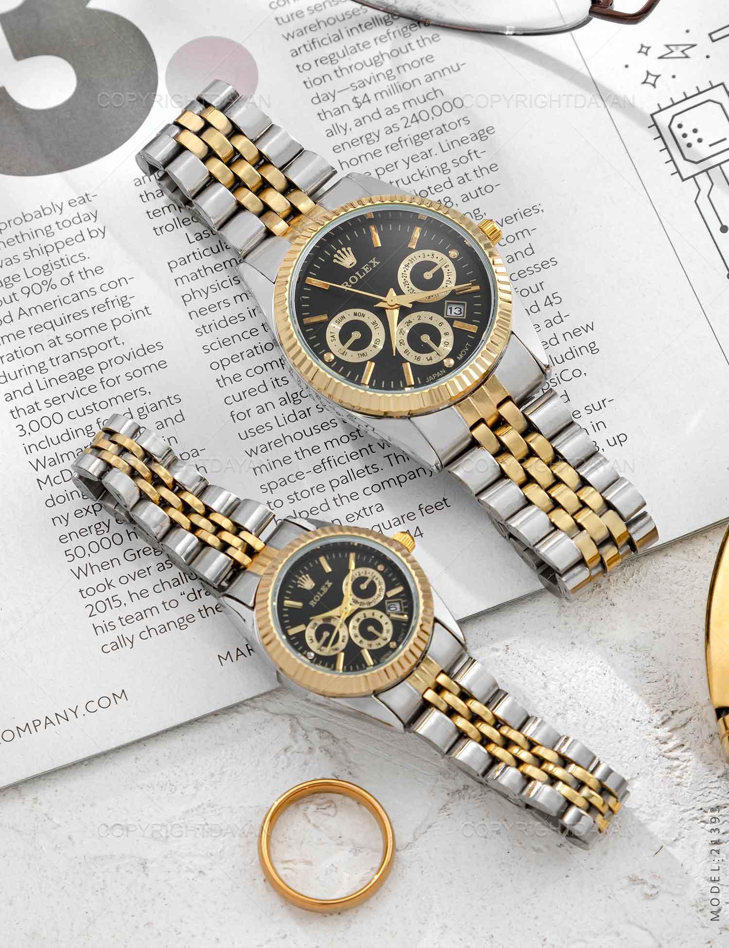 ست ساعت مچی Rolex مدل 21393 ست ساعت مچی Rolex مدل 21393 279,000 تومان