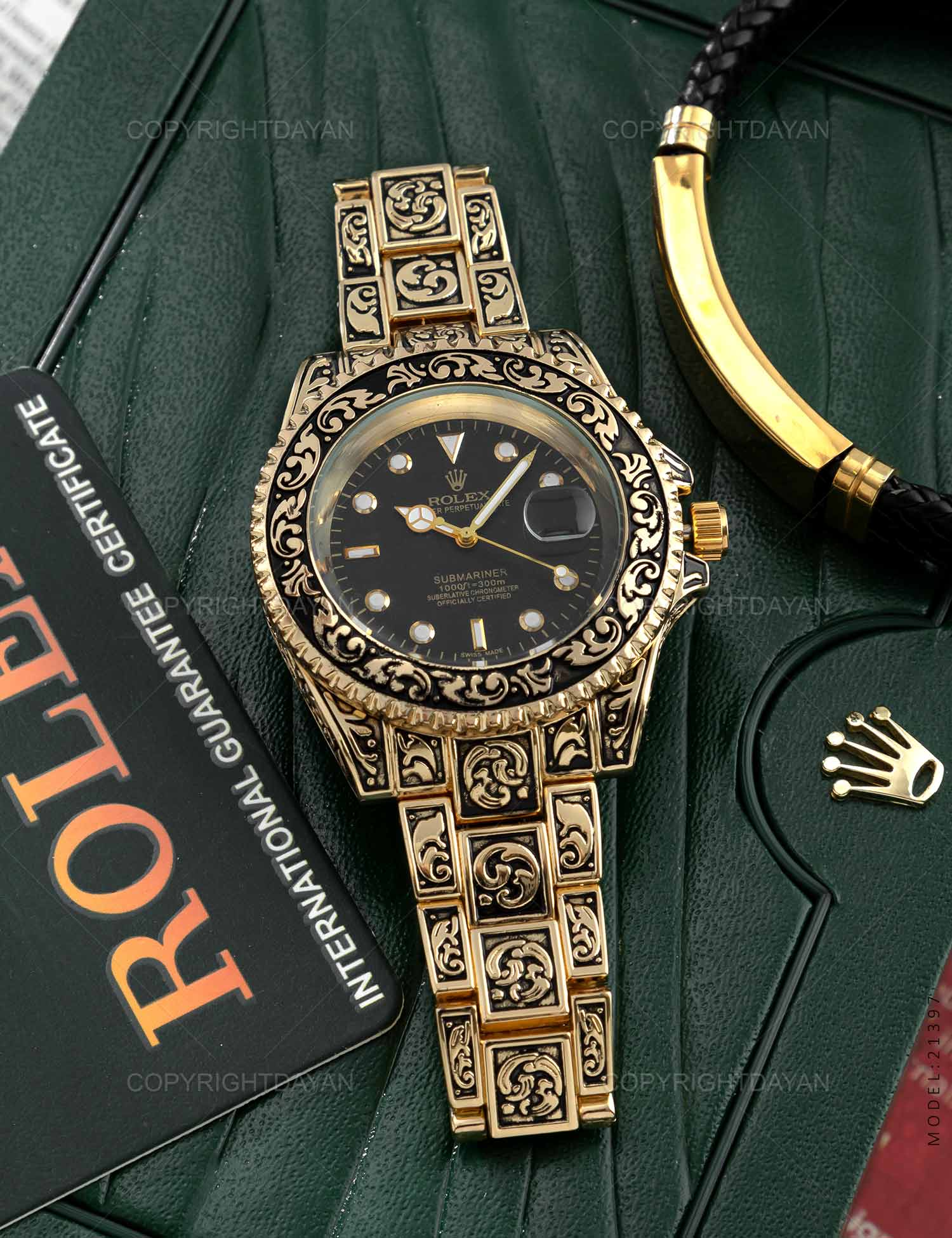 ساعت مچی Rolex مدل 21397 ساعت مچی Rolex مدل 21397 239,000 تومان