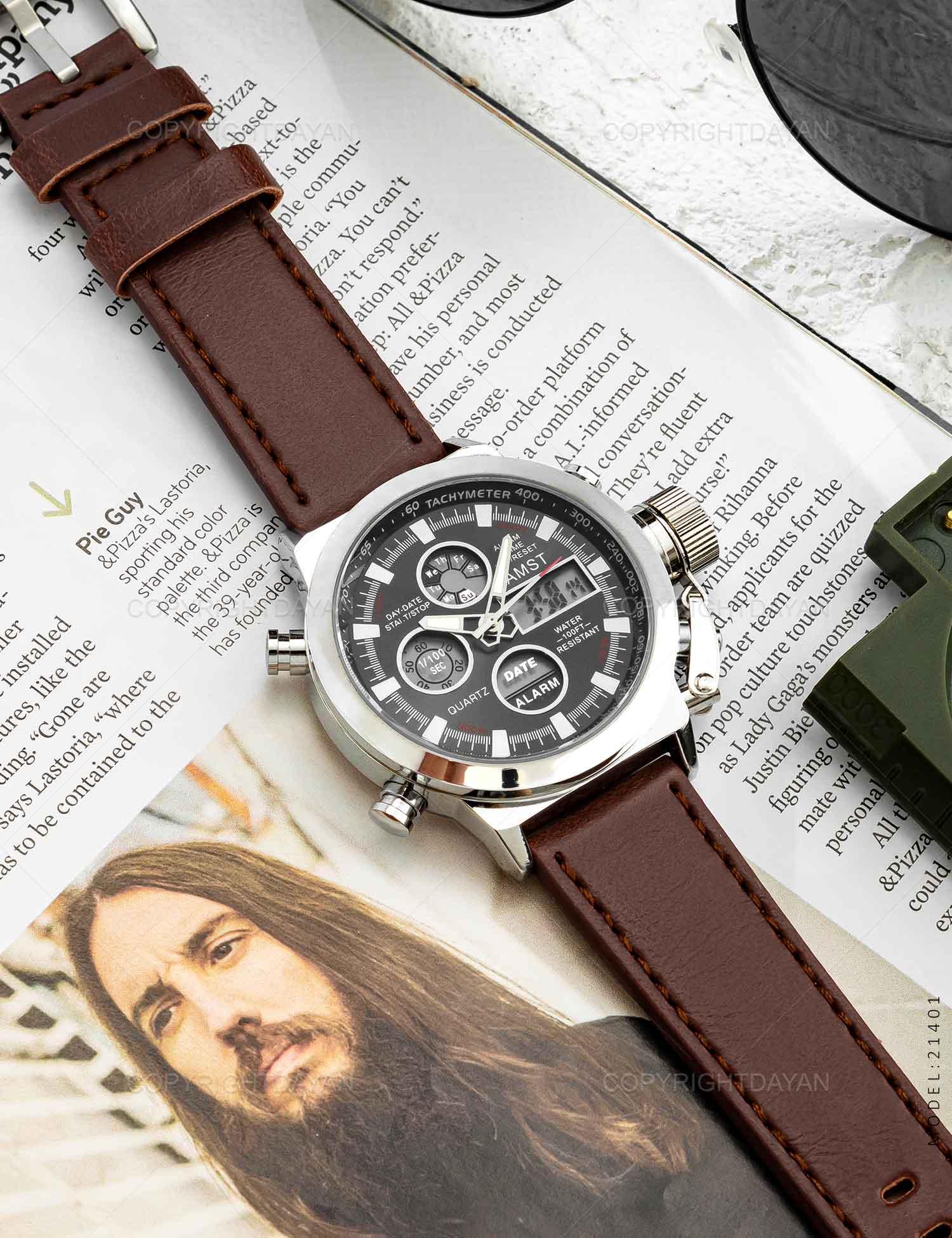 ساعت مچی مردانه AMST مدل 21401