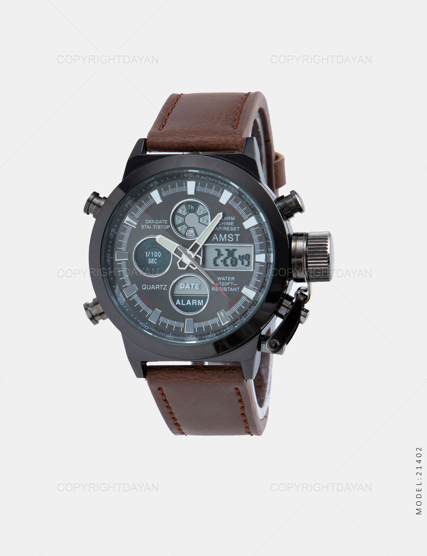 ساعت مچی مردانه AMST مدل 21402