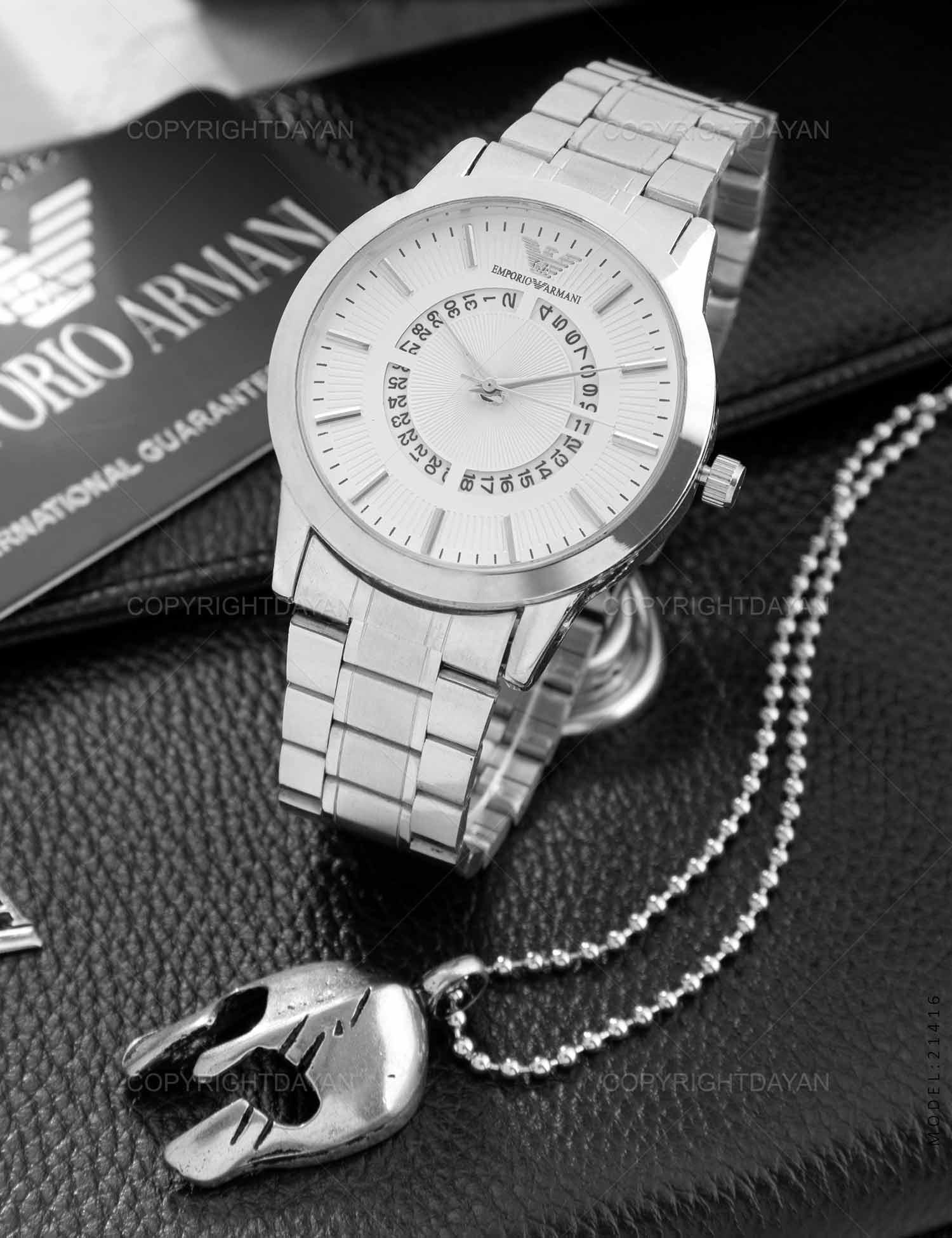 ساعت مچی مردانه Emporio Armani مدل 21416 ساعت مچی مردانه Emporio Armani مدل 21416 169,000 تومان