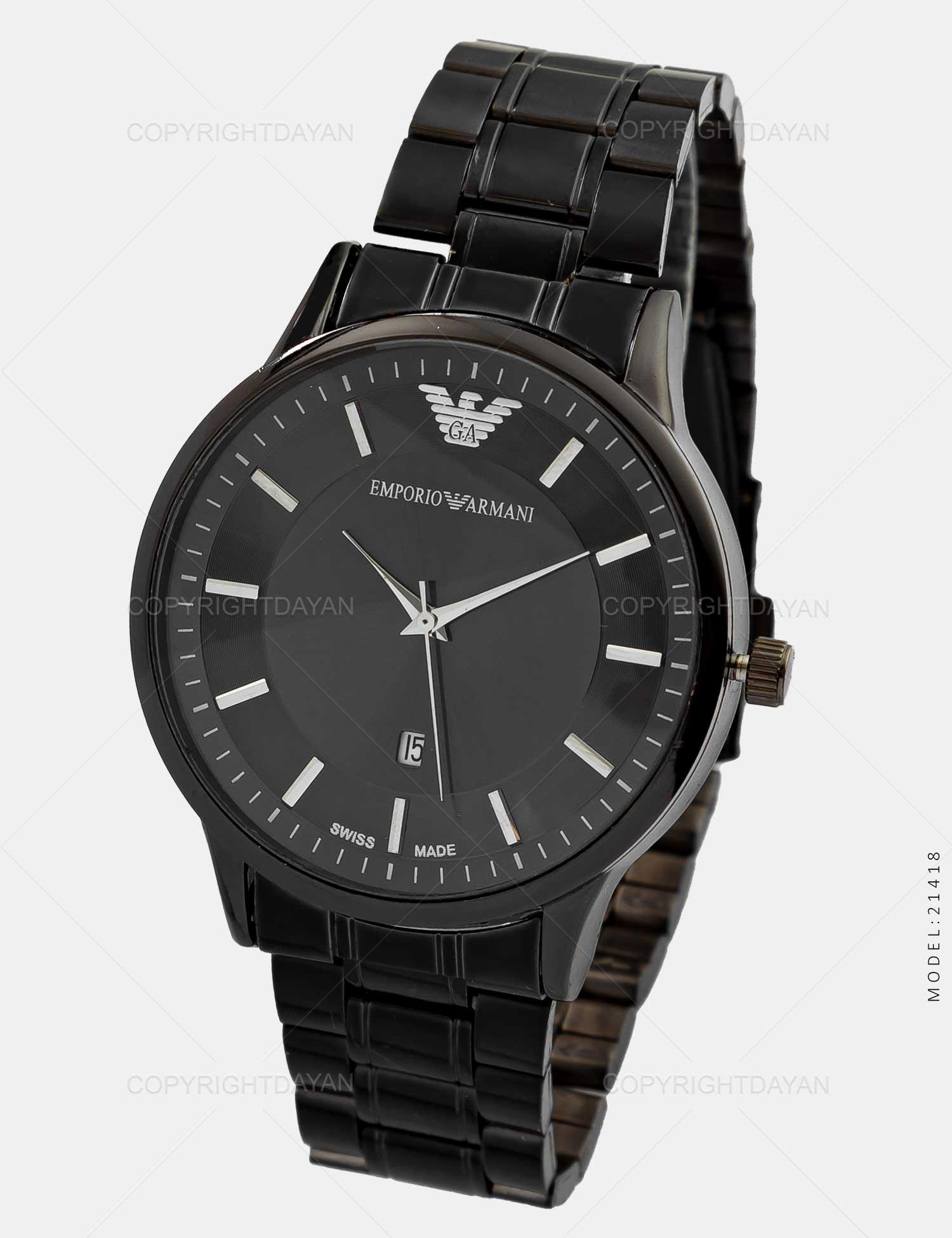 ساعت مچی مردانه Emporio Armani مدل 21418 ساعت مچی مردانه Emporio Armani مدل 21418 169,000 تومان