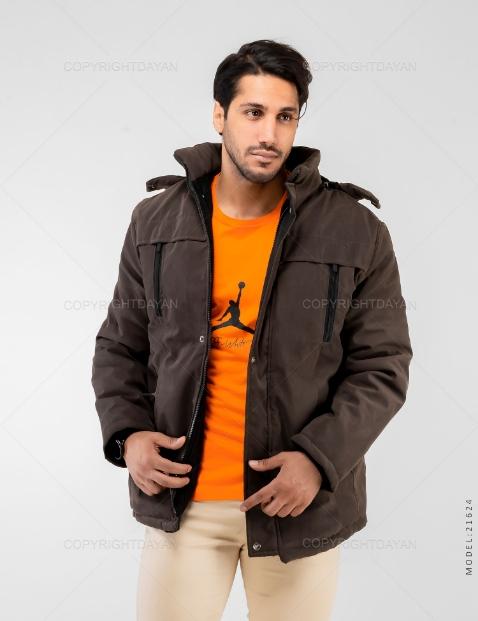 کاپشن مردانه Rayan مدل 21624