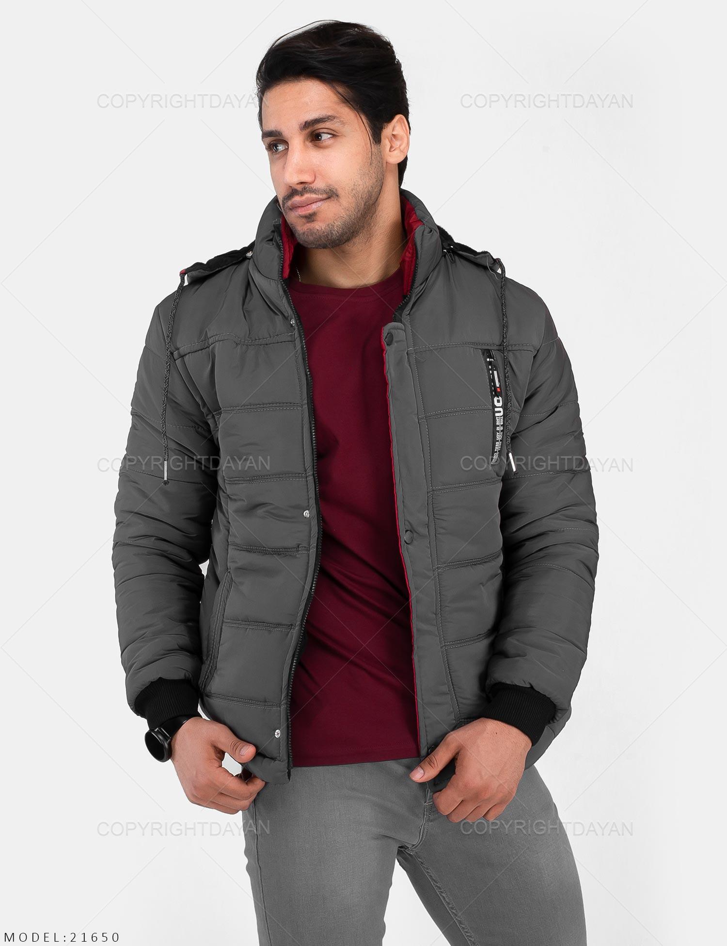 کاپشن مردانه Fashion مدل 21650