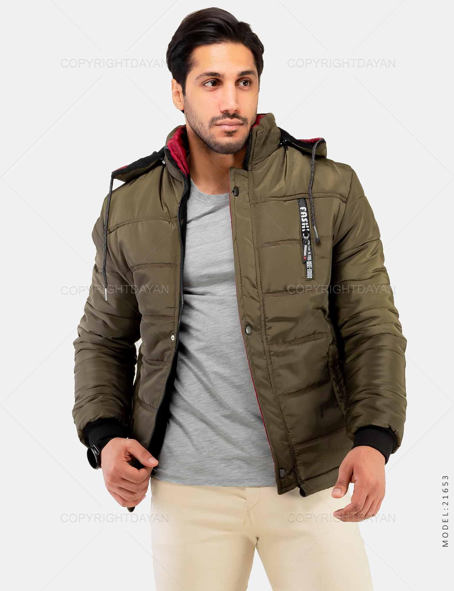 کاپشن مردانه Fashion مدل 21653