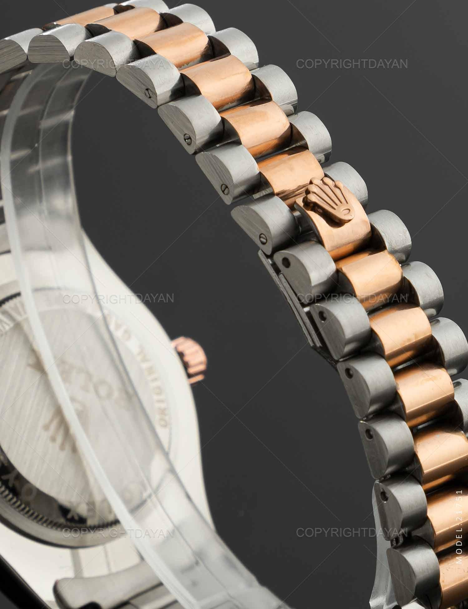 ساعت مچی مردانه Rolex مدل 21751 ساعت مچی مردانه Rolex مدل 21751 259,000 تومان