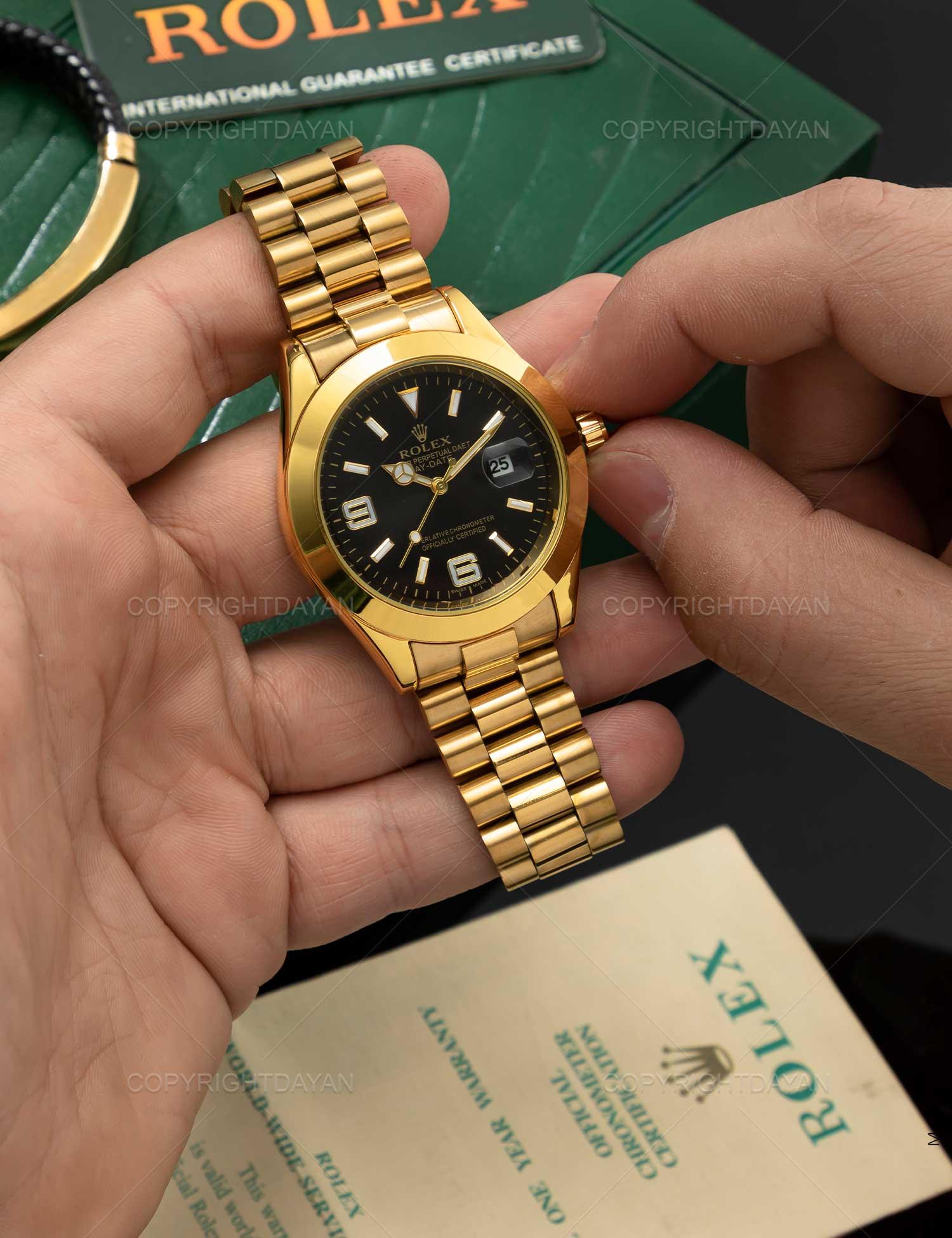 ساعت مچی مردانه Rolex مدل 21759