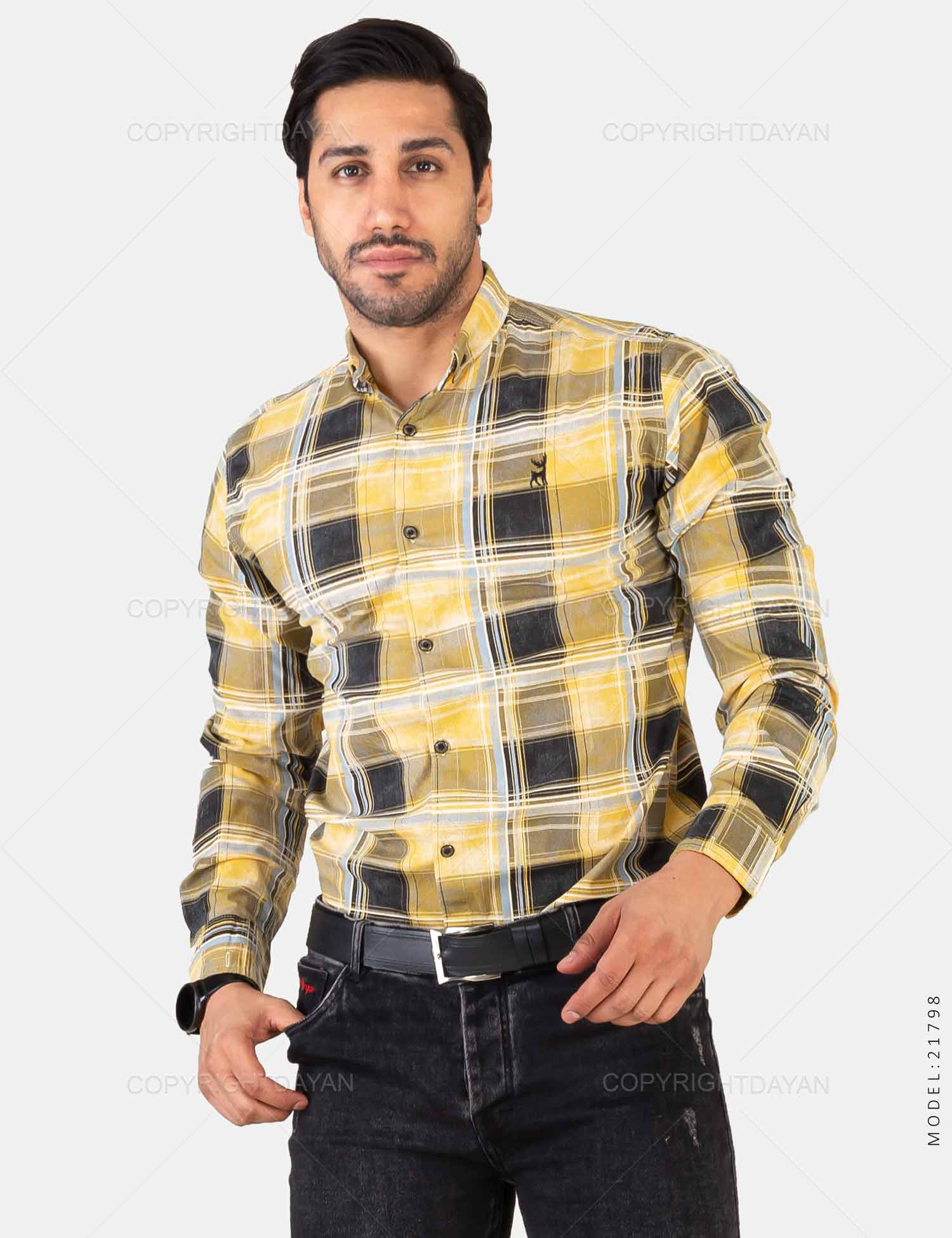 پیراهن مردانه Deniz مدل 21798