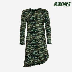 تونیک ارتشی زنانه مدل L7257