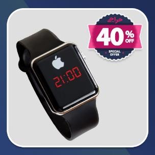 حراج ساعت LED طرح Apple Watch