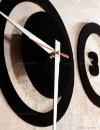 ساعت دیواری روکش مخمل پانا مدل 12195