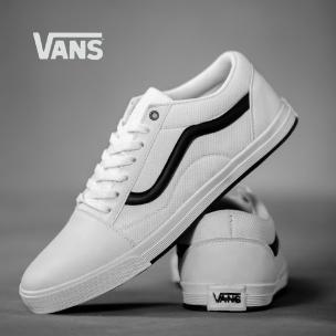کفش مردانه Vans مدل Pelazo (سفید)