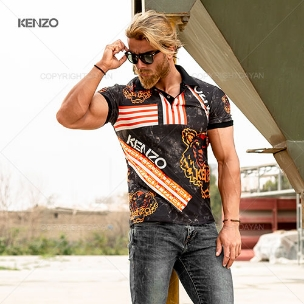 پولوشرت مردانه Kenzo مدل T9047