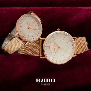 ست ساعت مچی مردانه و زنانه Rado مدل W8753
