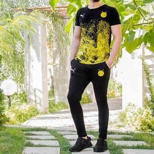 ست تیشرت و شلوار B.Dortmund مدل Star